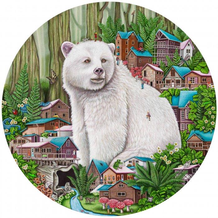 Brandy-Masch-Spirit-Of-The-Forest-40-dia-Online-Art-Galleries