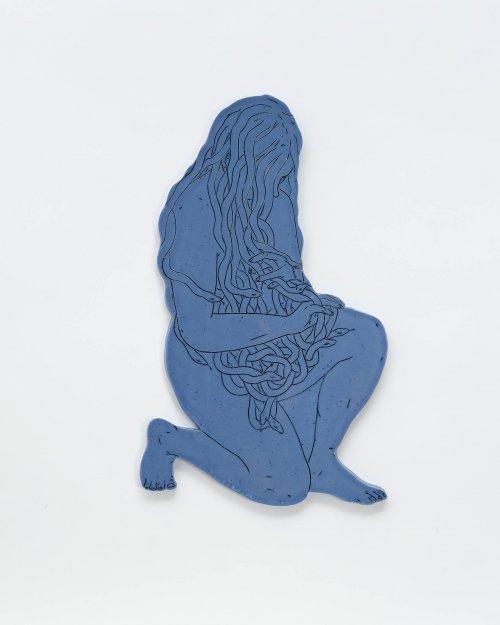 Genevieve-Dionne-Young-Medusa-Blue-Online-Art-Galleries