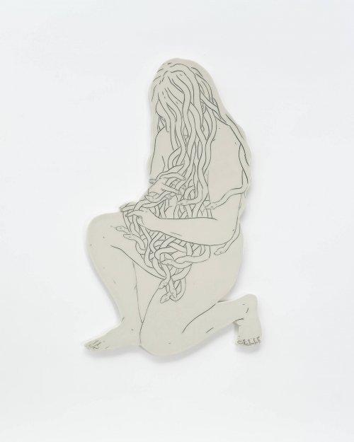 Genevieve-Dionne-Young-Medusa-Left-Facing-Online-Art-Galleries