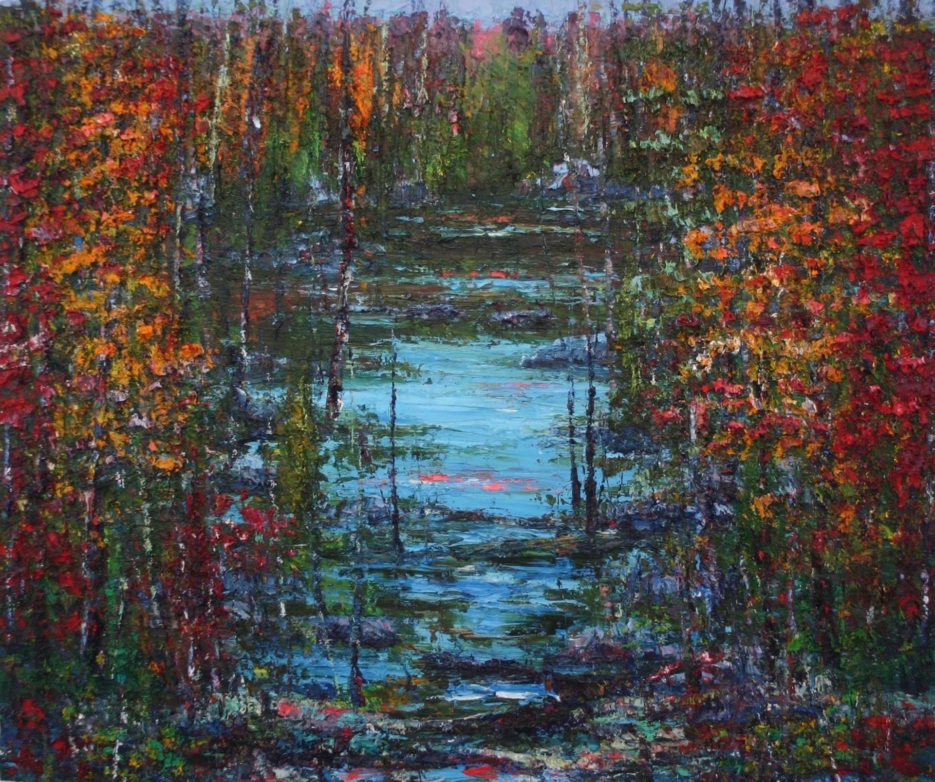 John-Barkley-Autumn-Highlights-2016-Oil-On-Canvas-30x36-6025-Online-Art-Galleries