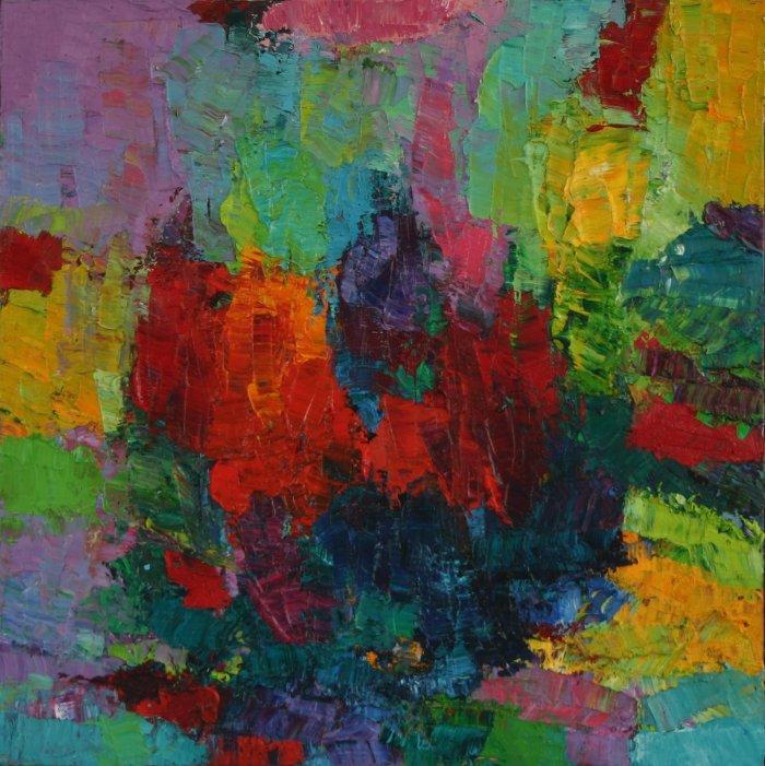 John-Barkley-Shaman-2020 Oil-On-Canvas-30x30-5475-Online-Art-Galleries