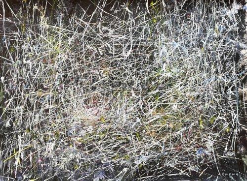 Judy-Cheng-Nest-2010-Acrylic-On-Paper-23x30-Framed-3600-Online-Art-Galleries