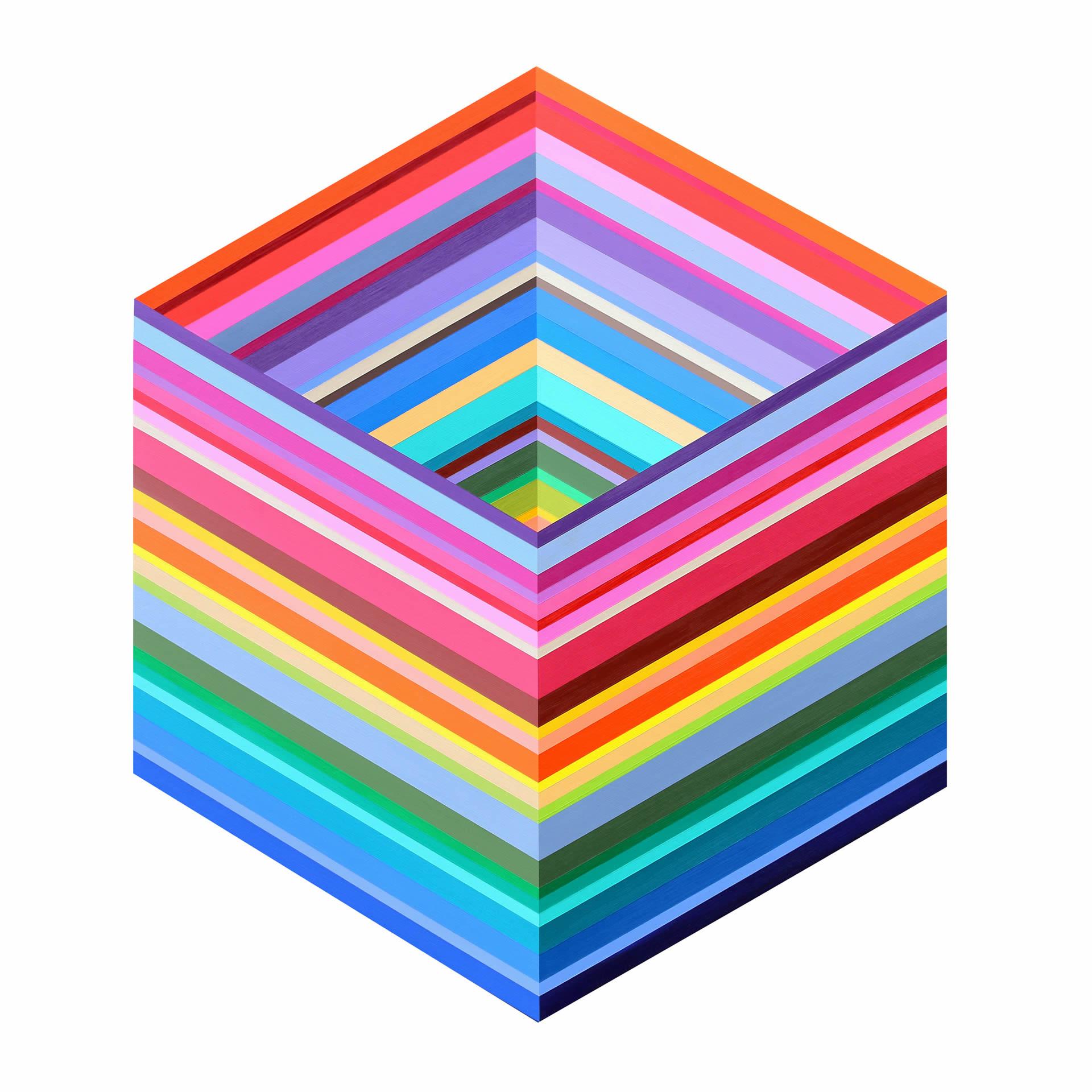 Kristofir-Dean-Electric-Rays-of-Spring-40x35-Online-Art-Galleries