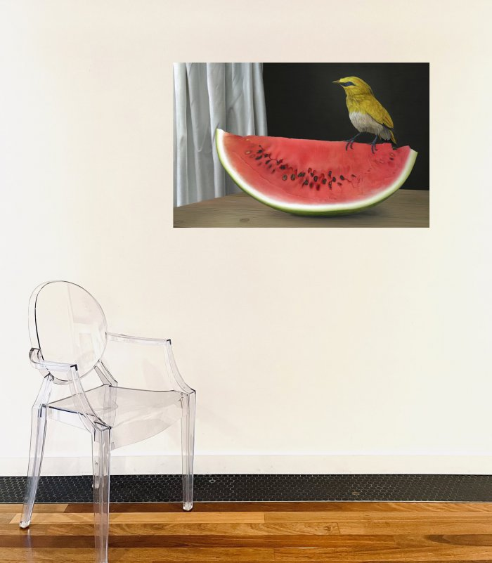 Marco-Tulio-Watermelon-Online-Art-Galleries-18-24-on-the-wall