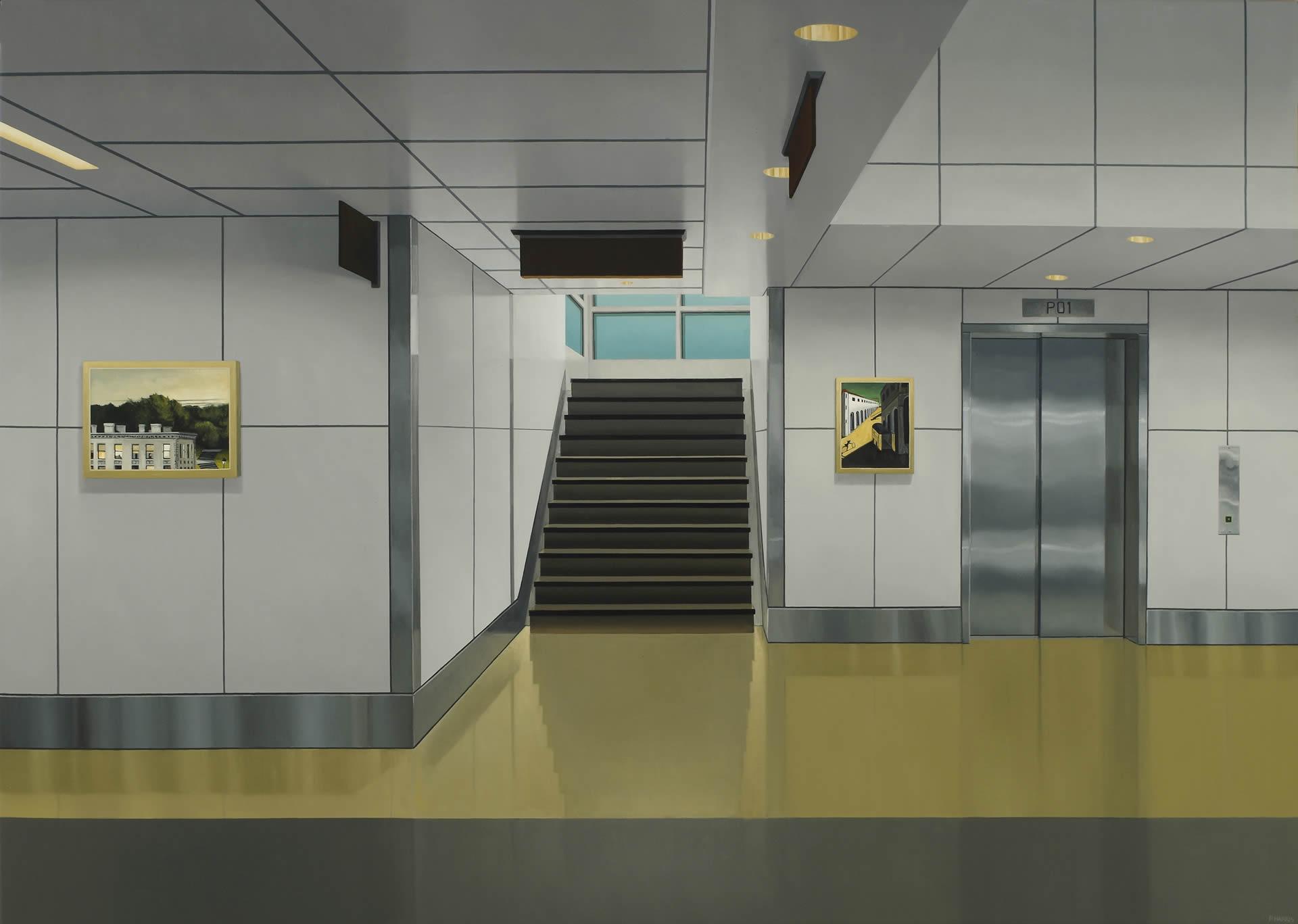 Peter-Harris-A-Lower-Level-34-x-48-Online-Art-Galleries