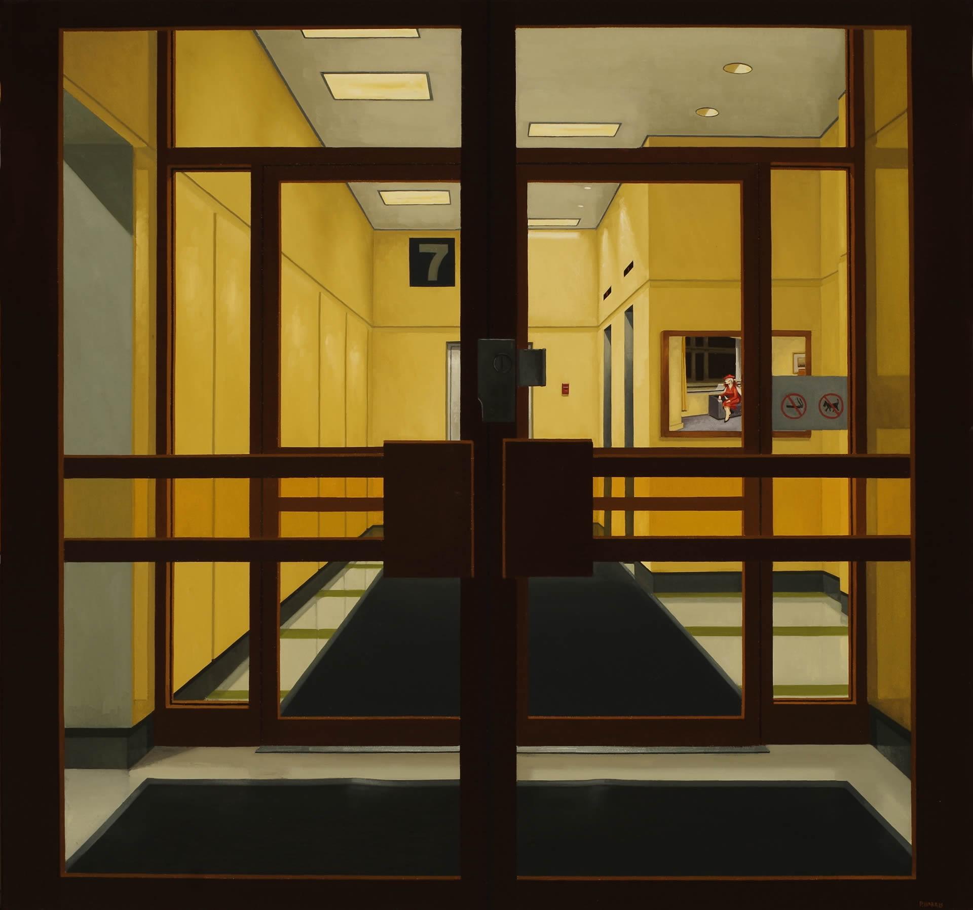 Peter-Harris-Lobby-At-7-30x32-Online-Art-Galleries