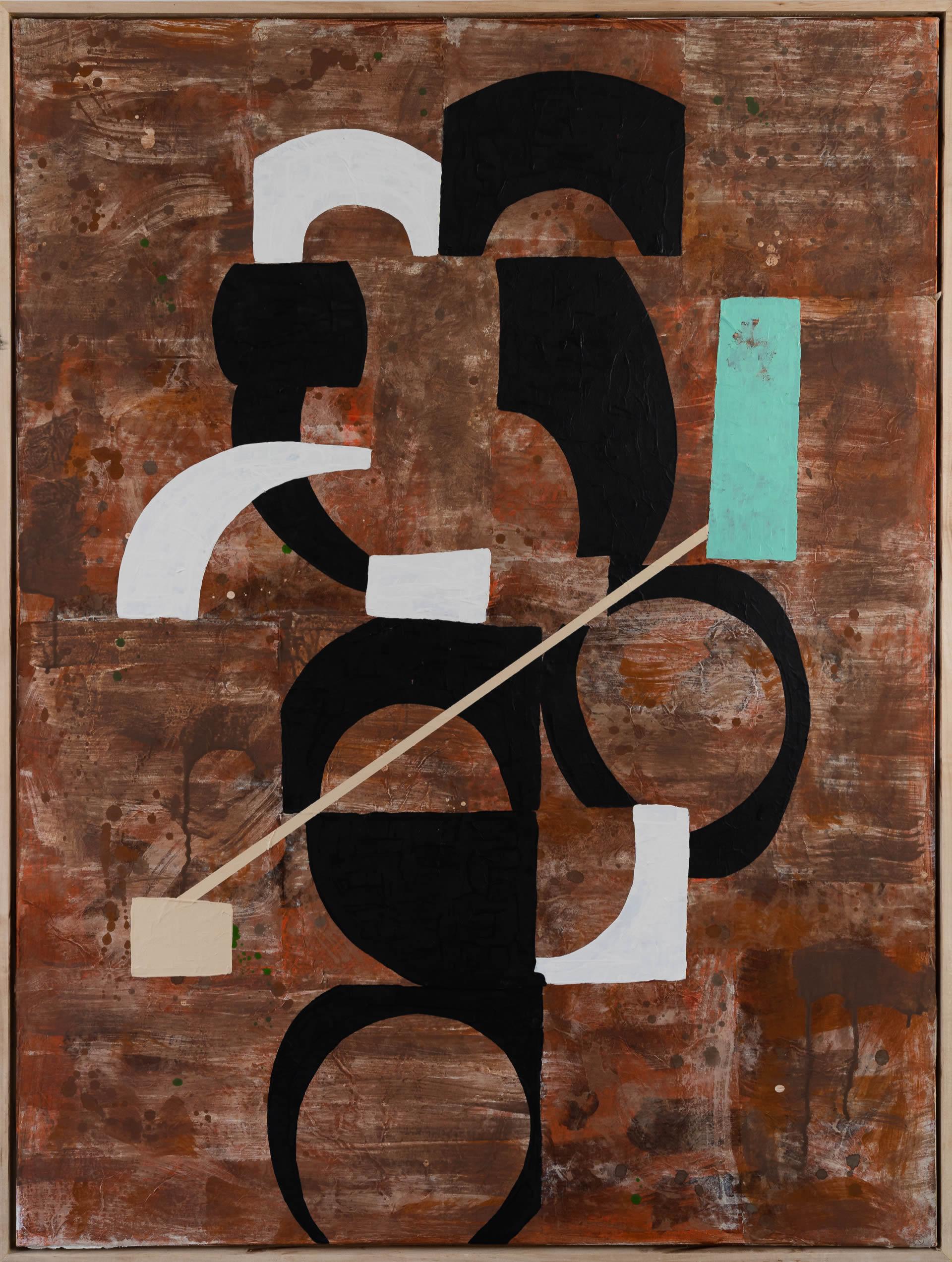 Hugh-Kearney-Arthur-Mixed-Media-On-Paper-On-Canvas-37_5x49_5-framed-3900-Online-Art-Galleries