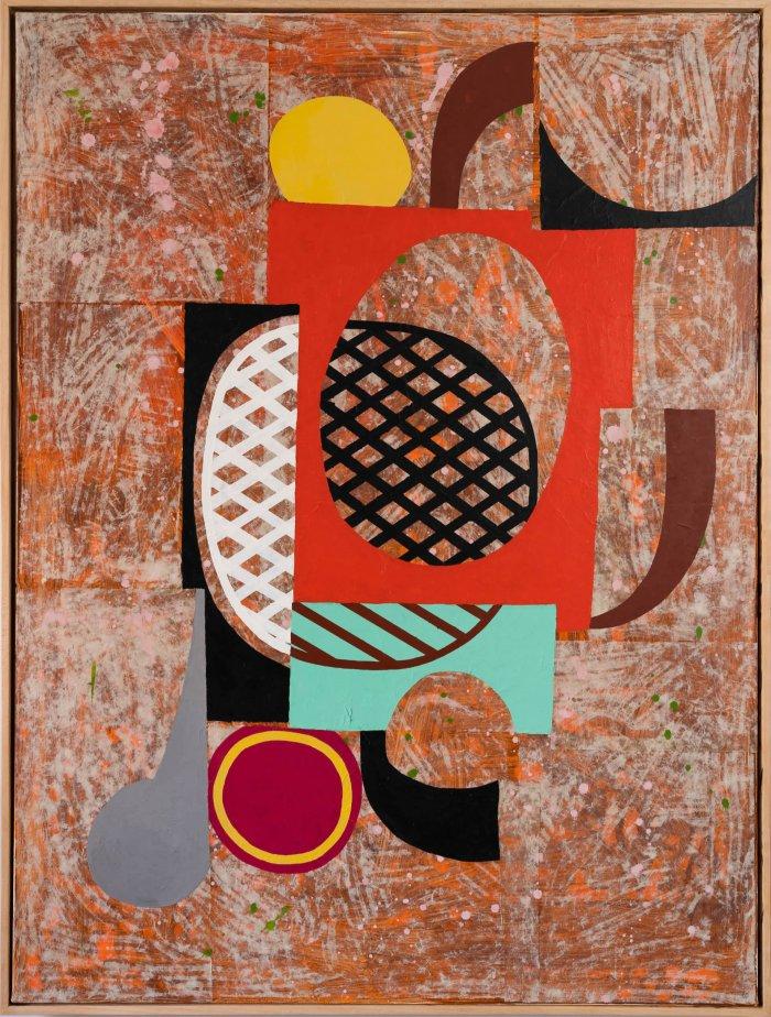 Hugh-Kearney-Musk-Mixed-Media-On-Paper-On-Canvas- framed-Online-Art-Galleries