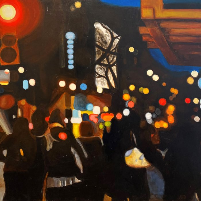 Jonathan-Gleed-Here-They-Come-2019-Acrylic-On-Panel-36x36-3000-Online-Art-Galleries