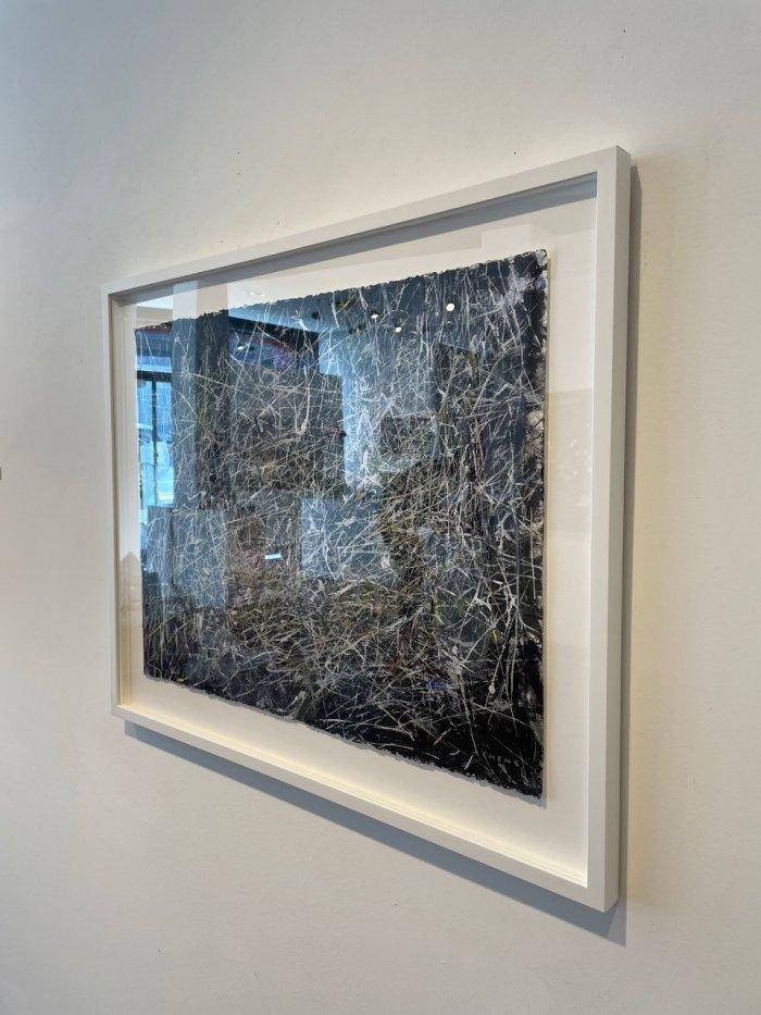 Judy-Cheng-Nest-2010-Acrylic-On-Paper-23x30-Framed-3600-Online-Art-Galleries-side