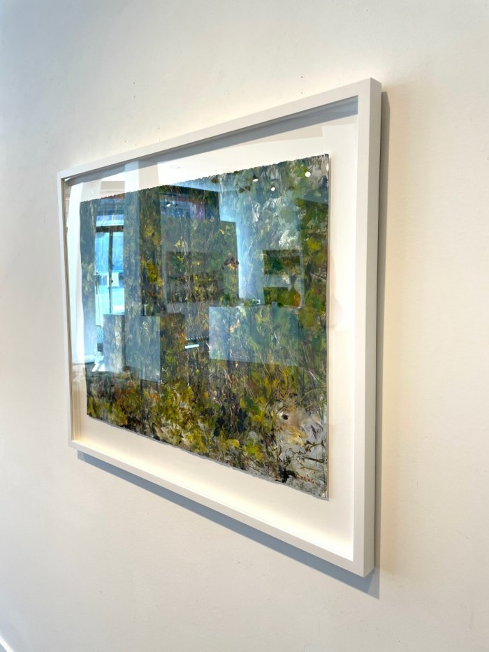Judy-Cheng-Quarry-Rock-III-2010-Acrylic-On-Paper-23x30-Framed-3600-Online-Art-Galleries-side