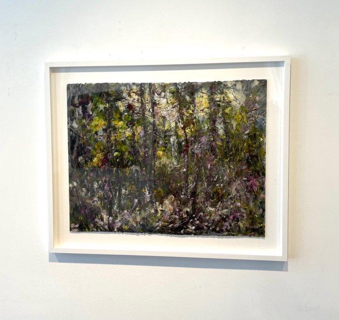 Judy-Cheng-Summer-2010-Acrylic-On-Paper-23x30-Framed-3600-Online-Art-Galleries-front