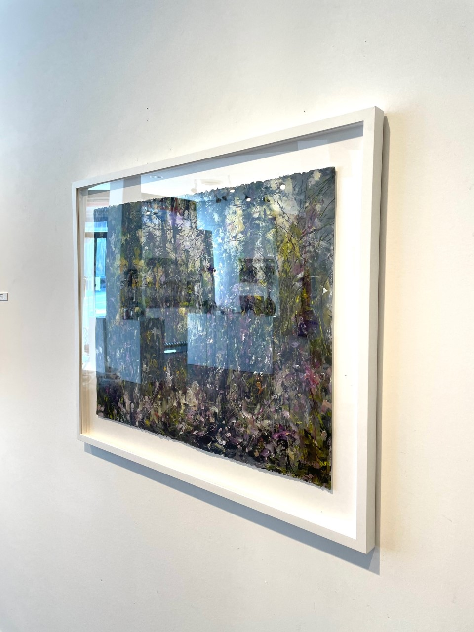 Judy-Cheng-Summer-2010-Acrylic-On-Paper-23x30-Framed-3600-Online-Art-Galleries-side