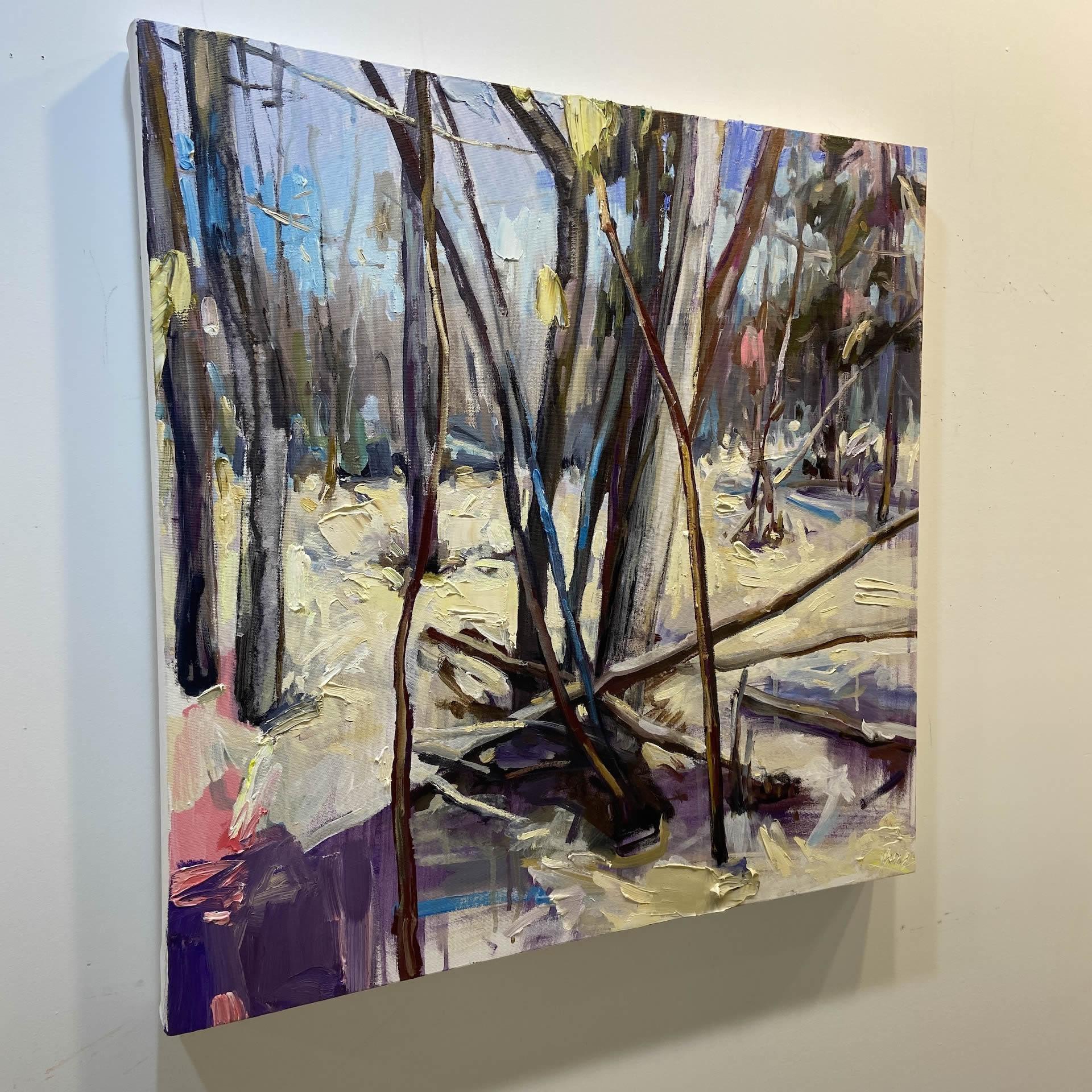Julie-Himel-Translations-2021-Oil-On-Canvas-24x24-2000-side-Online-Art-Galleries