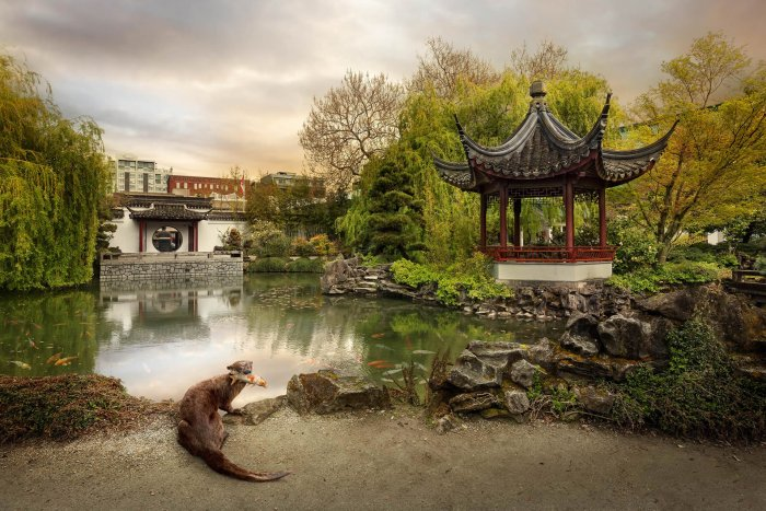 Kevin-Lanthier-Chinatown-Otter-Online-Art-Galleries