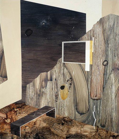 Mira-Song-Corner-Bench-In-The-Night-Garden-41_5x35_5-Online-Art-Galleries