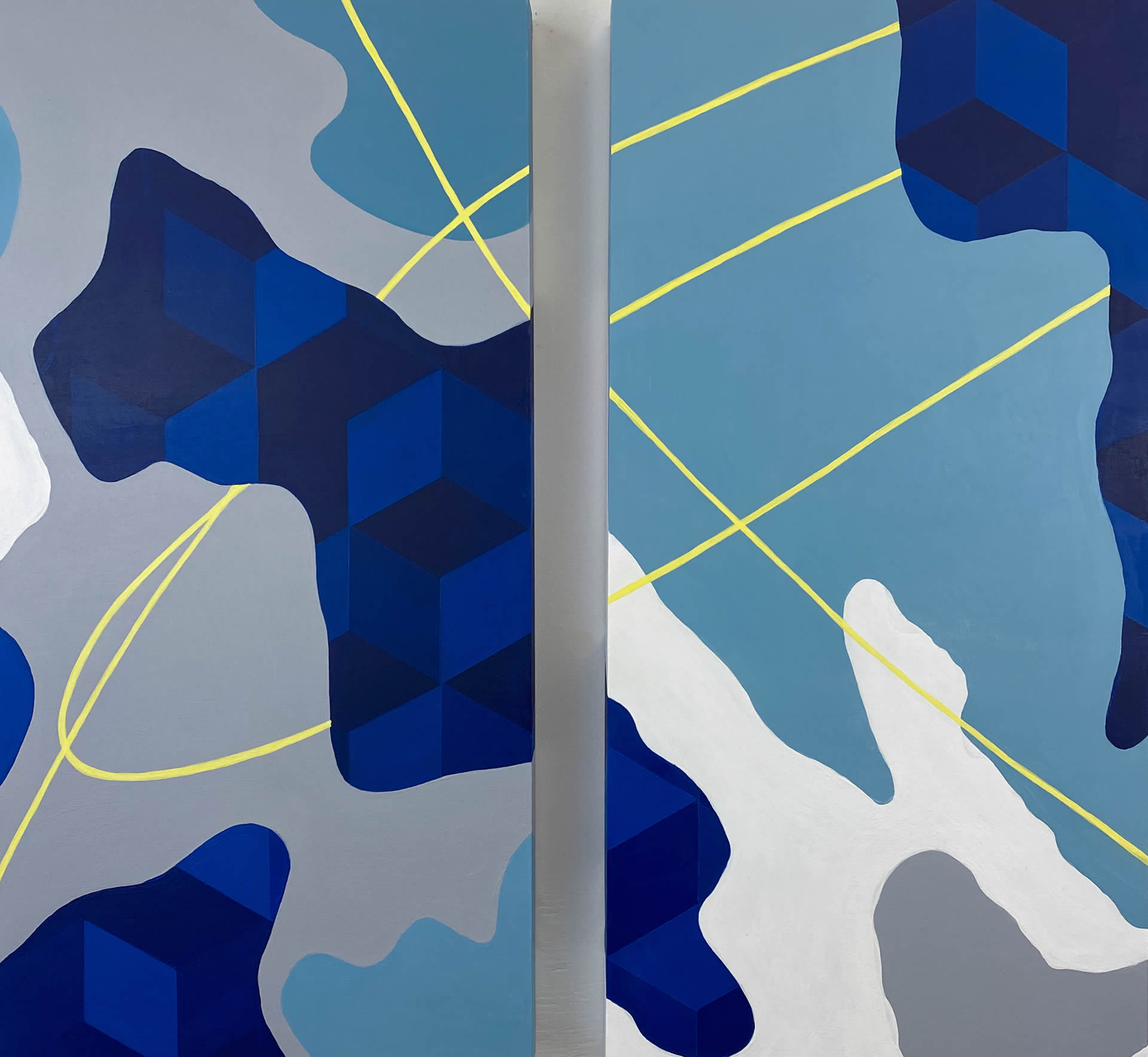 Tristesse-Seeliger-Flight-Plan-6-24x24-Online-Art-Galleries