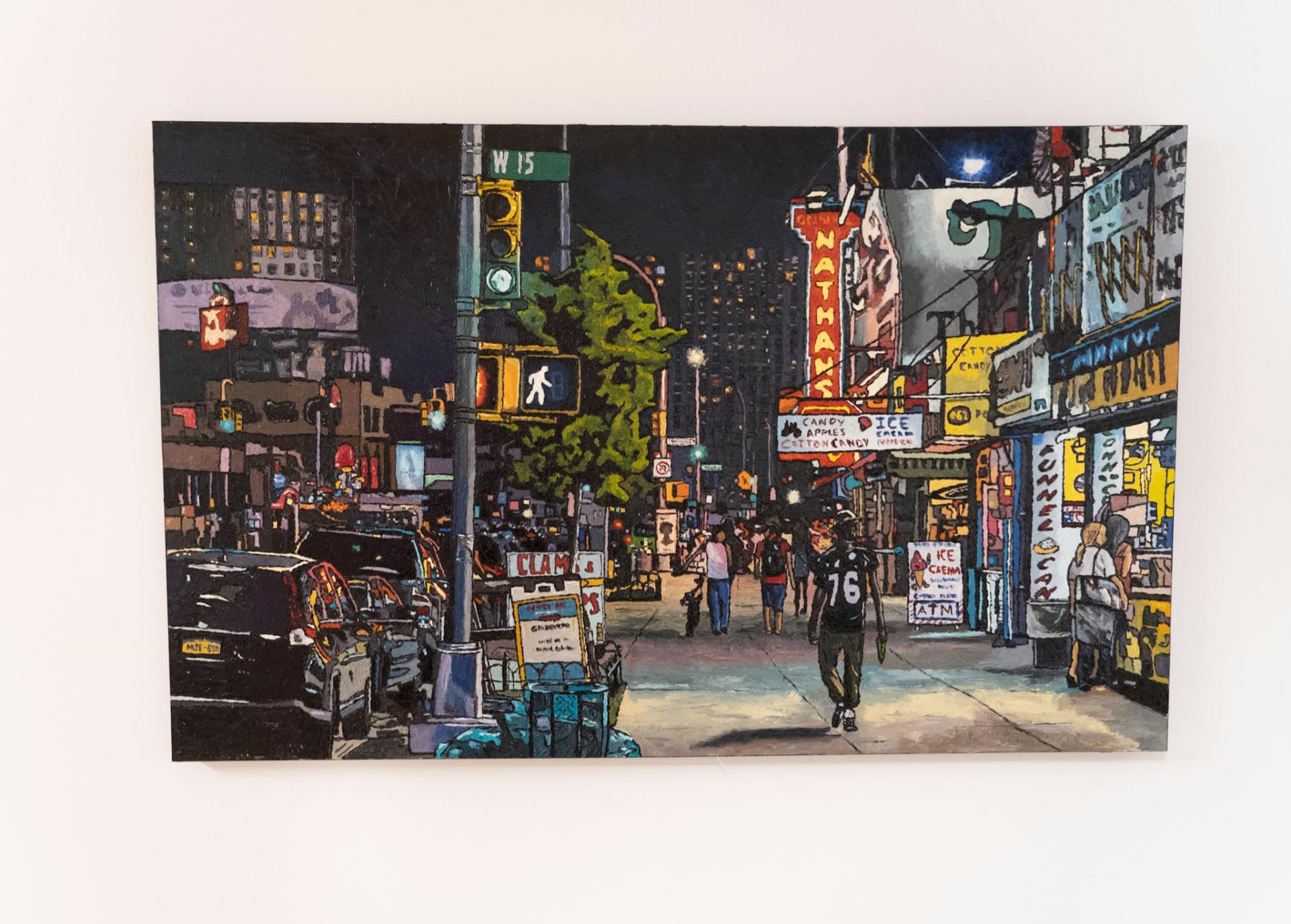 Emilie-Fantuz-Through-The-Streets-oil-on-canvas-30x48-2020-3900-Front-Online-Art-Galleries