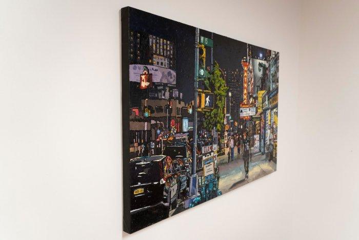 Emilie-Fantuz-Through-The-Streets-oil-on-canvas-30x48-2020-3900-Side-Online-Art-Galleries