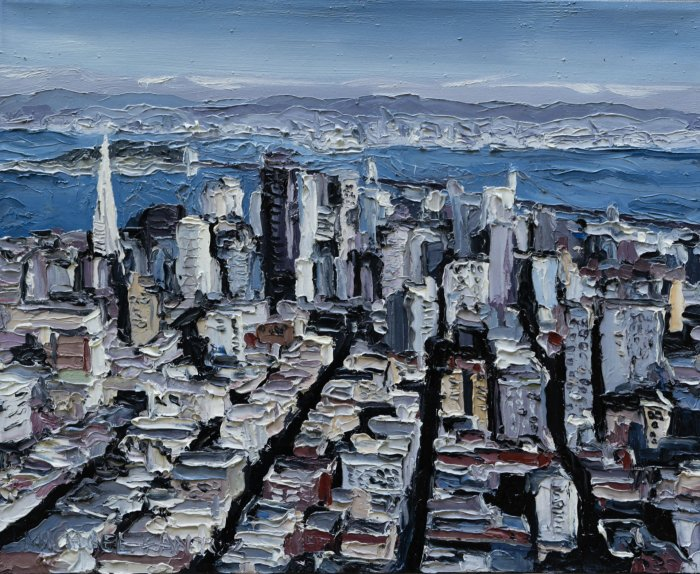 Mike-Fantuz-As-You-Are-San-Francisco-2020-oil-on-canvas-16x20-900-Online-Art-Galleries
