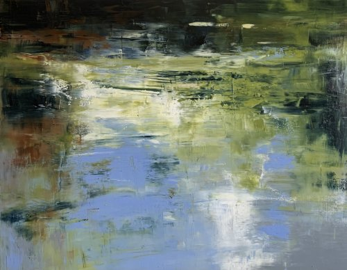 Sue-A-Miller-Floating-On-The-Edge-2021-Oil-On-Panel-36x48-3500-Online-Art-Galleries