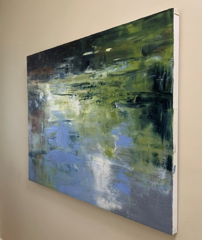Sue-A-Miller-Floating-On-The-Edge-2021-Oil-On-Panel-36x48-3500-Side-Online-Art-Galleries