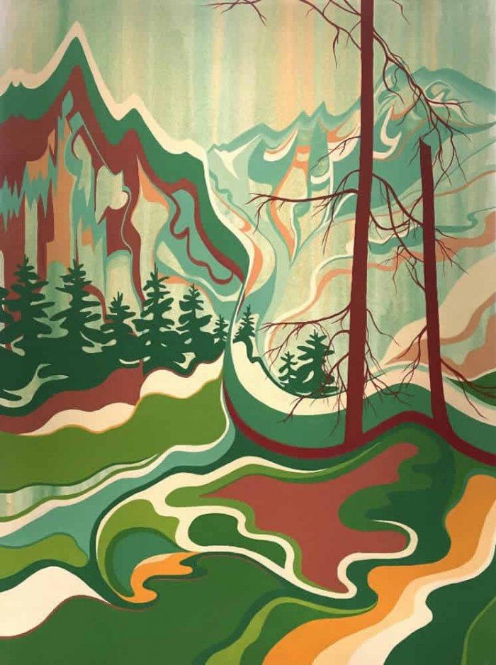 Tess-Paul-Monashee-2021-Acrylic-On-Canvas-48x36-2600-Online-Art-Galleries